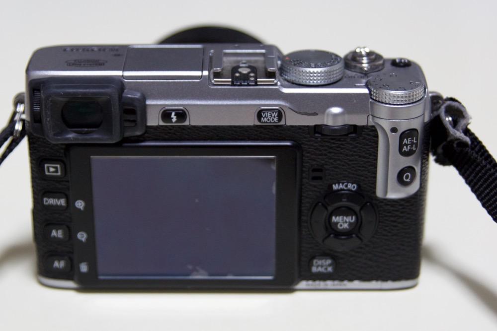 X-E1背面