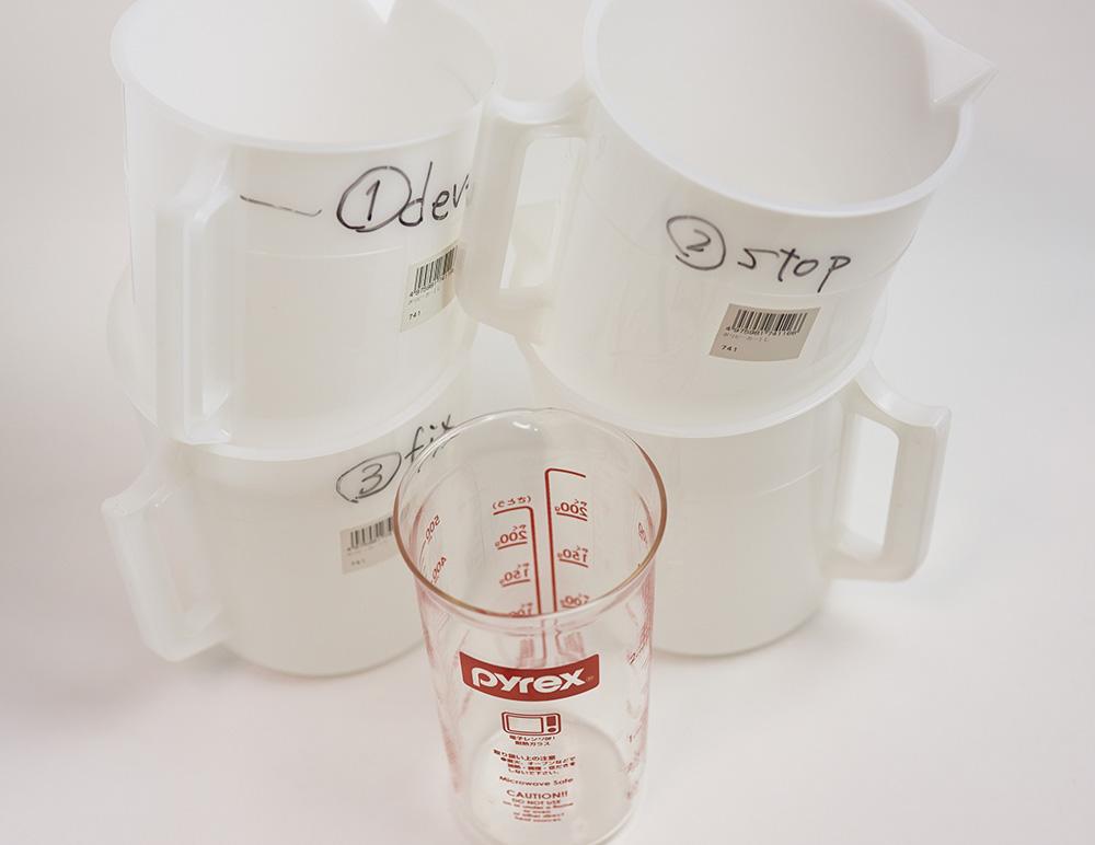 計量カップとメスカップ